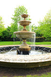 Fountain in the park Stock Photography