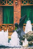 Fountain in park Royalty Free Stock Images
