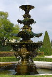 Fountain in park with splashing water Stock Photography