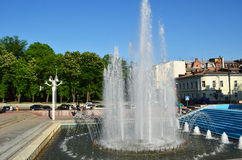 Fountain in the park - Ukraine Royalty Free Stock Photo