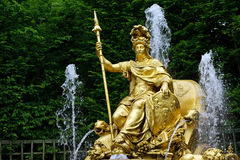 Fountain in the park of Versailles. France Stock Photography