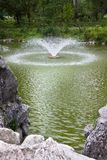 Fountain in the park Royalty Free Stock Image