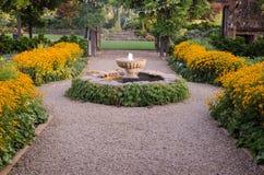 Fountain Pathway Royalty Free Stock Photo