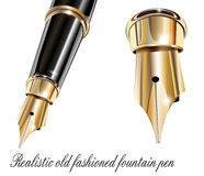 Fountain pen Royalty Free Stock Photos