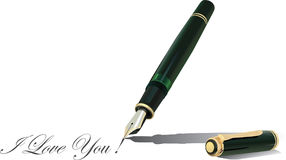 Fountain Pen 2 Stock Photo