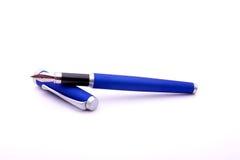 Fountain pen. A fountain pen, isolated on white Stock Photos