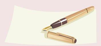 Fountain pen Royalty Free Stock Photography