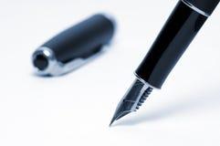 Fountain pen. On white background Stock Photo