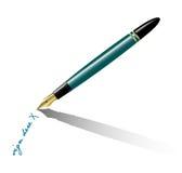 Fountain-pen Imagens de Stock