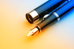 Fountain pen Stock Images
