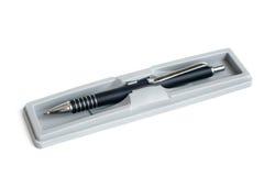 Fountain pen in a box Stock Image