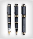 Fountain pen, creative concept Stock Image