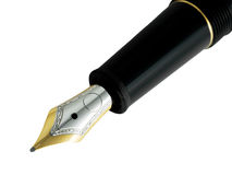 Fountain pen detail Royalty Free Stock Photography