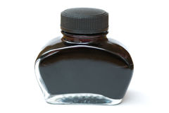 Fountain pen ink Royalty Free Stock Photo