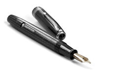 Fountain Pen Isolated Stock Image