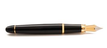 Fountain pen. Isolated on white stock photo