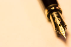 Fountain pen Royalty Free Stock Images