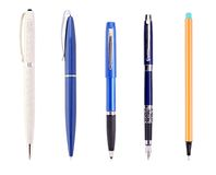 The fountain pen Royalty Free Stock Images