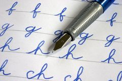 Free Fountain Pens Stock Photos - 8752933