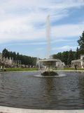 Fountain in Petergoph, Russia Royalty Free Stock Photos