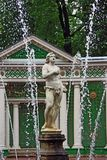 Fountain In Peterhof, St Petersburg Royalty Free Stock Image