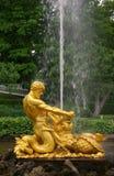 Fountain in Petrodvorets Stock Photo