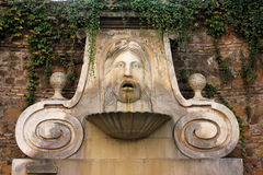 Fountain. Photo image wiith  wall  fountain  in rome Royalty Free Stock Photography