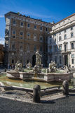 Fountain from Piazza Navona in Rome, Italy Stock Photos