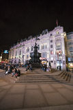 The Fountain at Piccadilly Circus LONDON, England - United Kingdom - FEBRUARY 22, 2016 Stock Photography