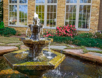 Fountain. Picture of a beautiful fountain adjacent to a Medical office building in Montgomery, Alabama royalty free stock images