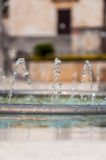 Fountain pipe in Makarska Royalty Free Stock Images