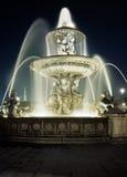 Fountain, Place de la Concorde, Paris. Royalty Free Stock Image