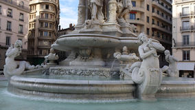 Fountain, Place des Jacobins Royalty Free Stock Images