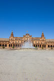 Fountain of Plaza de Espa?a, Seville, Spain Stock Images