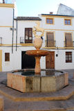 Fountain Plaza del Potro in Cordoba Stock Images