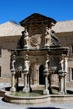 Fountain, Plaza Santa Maria, Jaen, Spain. Royalty Free Stock Photography