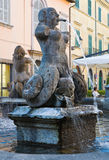 Fountain of Poggio. Tuscania. Lazio. Italy. Stock Image