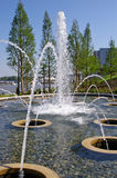 A Fountain on the Potomac in the National Harbor Royalty Free Stock Photo