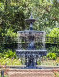 Fountain at public park Royalty Free Stock Image