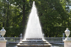 Fountain Pyramid Stock Images