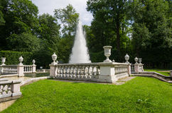 Fountain Pyramid in the Lower Park Royalty Free Stock Photos