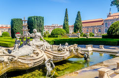 Fountain in Queluz Royalty Free Stock Photography