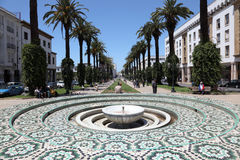 Fountain in Rabat, Morocco Royalty Free Stock Images