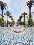 Fountain in Rabat, Morocco Royalty Free Stock Image