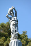 Fountain Rachel in Gurzuf, Crimea Stock Images