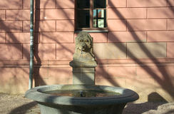 Fountain at Reading Museum, Weimar Stock Photo