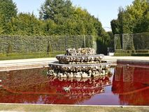 The fountain - red water Royalty Free Stock Photos