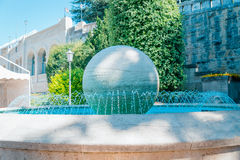 Fountain in Republic of San Marino Stock Photos