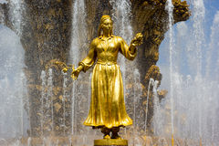 Fountain of the Republics 4, Moscow, Russia Royalty Free Stock Images