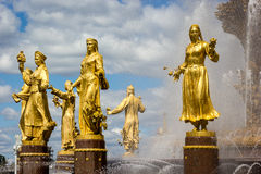 Fountain of the Republics 5, Moscow, Russia Stock Photo